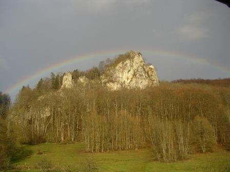 16.04.2006 - Parc Naturel du Danube. Vue depuis ma chambre...