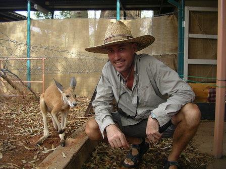07.01.2007 - Orphelinat pour kangourous. Alice Springs.