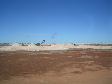 07.01.2007 - Mines d'opale. Coober Pedy.