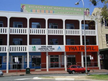 09.01.2007 - YHA (auberge de jeunesse). Adelaide.
