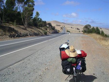 11.01.2007 - Direction Kangaroo Island. Péninsule Fleurieu.