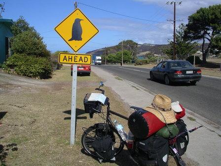 11.01.2007 - Arrivée à Penneshaw. Kangaroo Island.