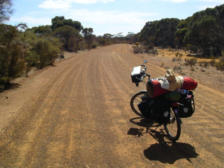 12.01.2007 - En direction d'American River. Kangaroo Island.