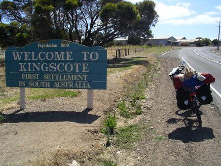 13.01.2007 - Arrivée à Kingscote. Kangaroo Island.