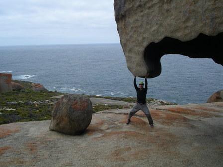 14.01.2007 - Quelle Force ! Remarkable Rocks. Kangaroo Island.
