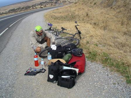 18.01.2007 - Les plaisirs du cyclotourisme...
