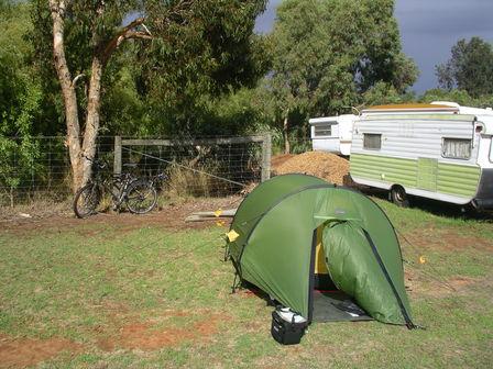20.01.2007 - Camping de Strathalbyn.