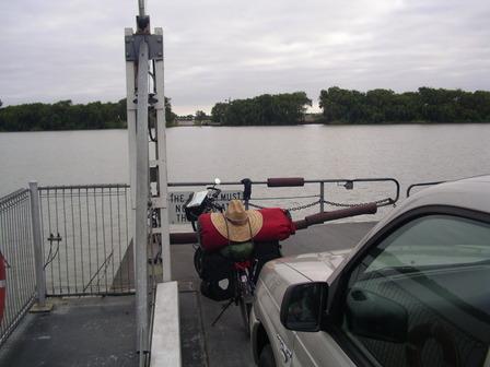 22.01.2007 - Traversée de la rivière Murray. Wellington.