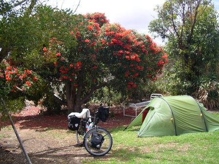 27.01.2007 - Je dormirai dans le jardin de la Prison. Mt Gambier.