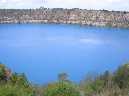 27.01.2007 - Le Blue Lake. Mt Gambier.