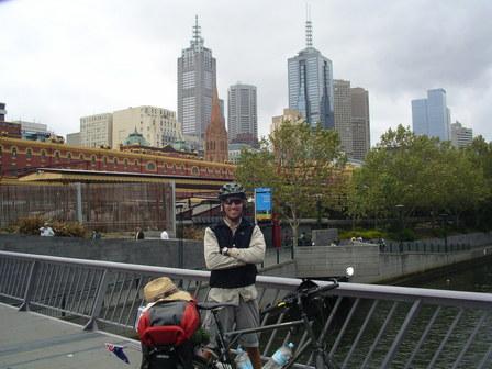 07.02.2007 - Arrivée au centre de Melbourne !