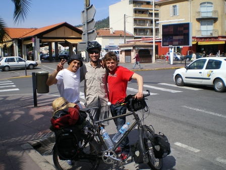 07.05.2007 - Avec Rahmoun et Virgile dans le quartier de la Bocca.