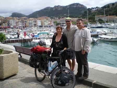 17.05.2007 - Avec Brigitte et Stéphane. Port de Cassis.