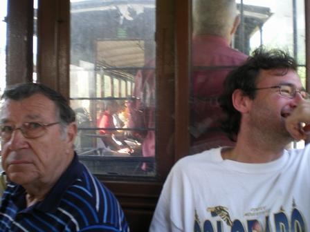 22.05.2007 - Mais pourquoi est-ce que François est mort de rire ???...