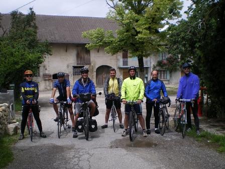 28.05.2007 - 7 cyclistes sur la ligne de départ !