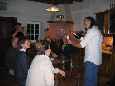 28.05.2007 - Jean-Pierre fait péter le champagne !