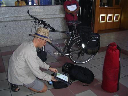 15.11.2006 - Arrivée à Ngurah Rai airport, Bali.