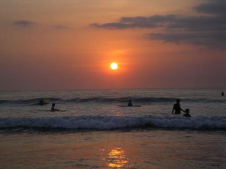 18.11.2006 - Plage de Kuta, Bali.