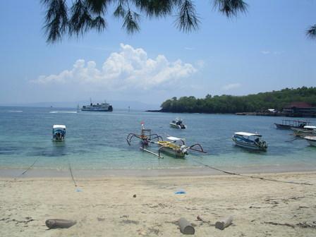 29.11.2006 - Baie de Padangbai, Bali.
