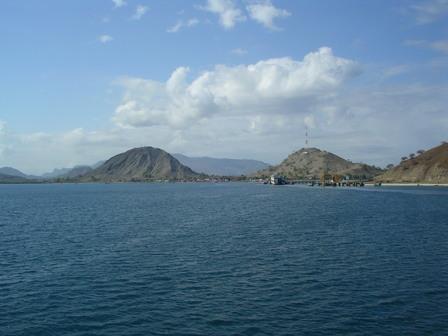02.12.2006 - Arrivée sur l'île de Sumbawa.