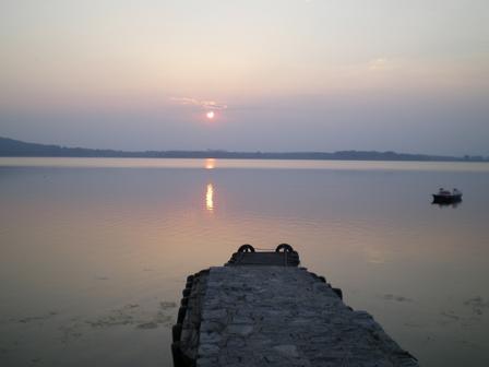 20.04.2007 - La nuit tombe sur le lac de Viverone.