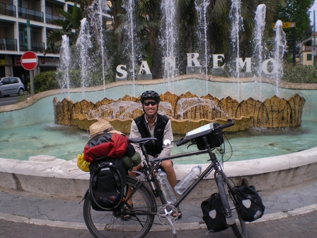 01.05.2007 - Brève escale à San Remo.
