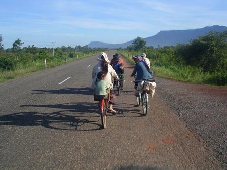 25.06.2006 - Je ne suis pas le seul à parcourir de longues distances à vélo...