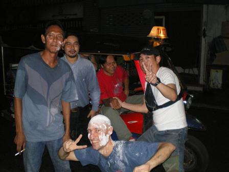 11.04.2007 - Songkran : Nouvel An thaïlandais. Bangkok. Thaïlande.