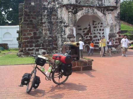 07.10.2006 - Porta de Santiago. Malacca.